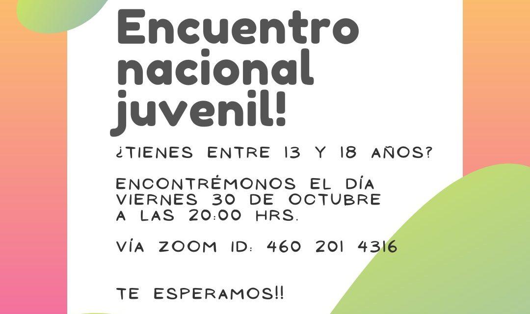 Encuentro Nacional Pastoral Juvenil